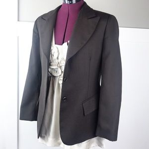 Brooks Brothers blazer brown wool 6